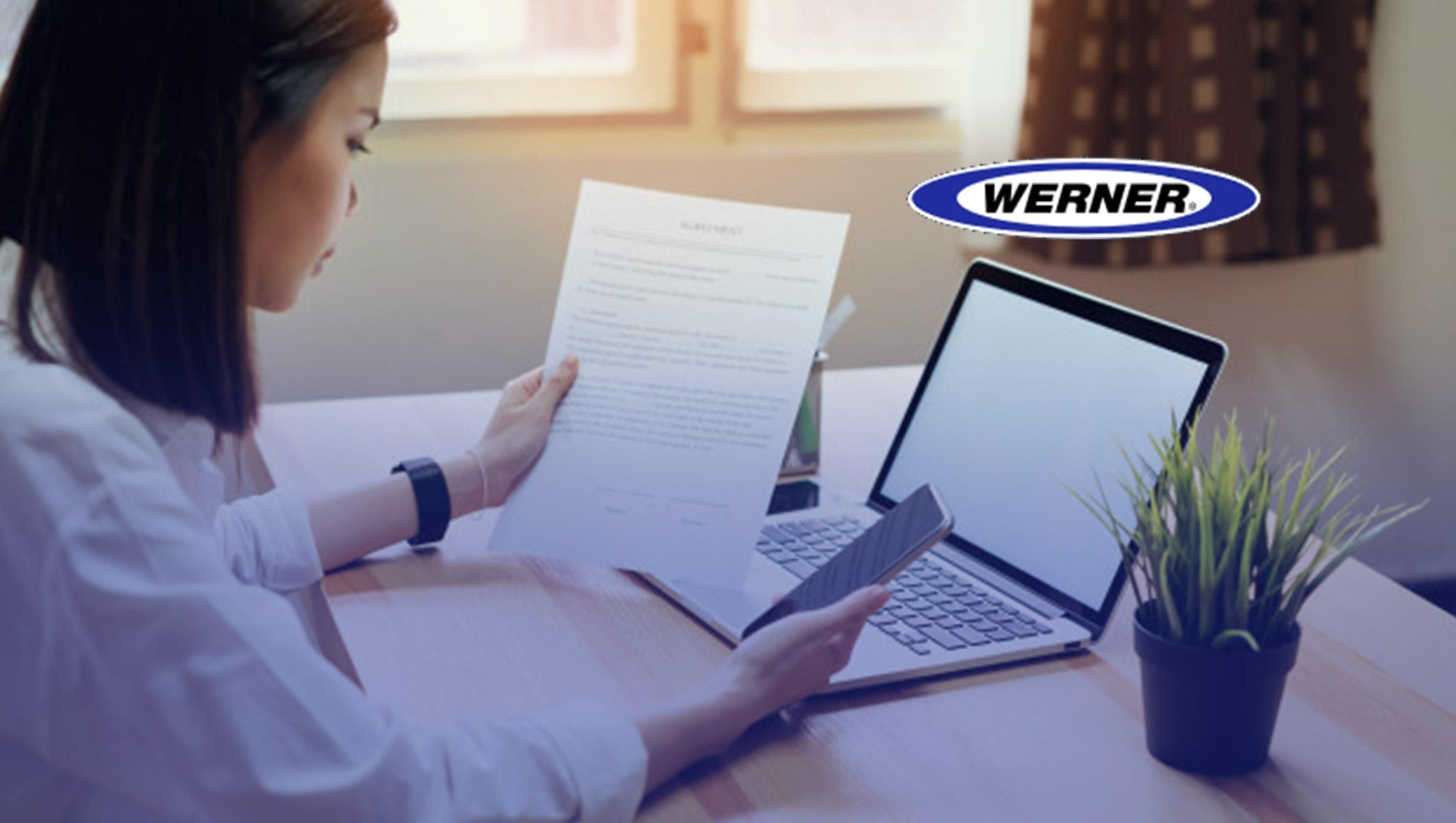 Werner Introduces New SalesTech Platform to Improve Digital Sales