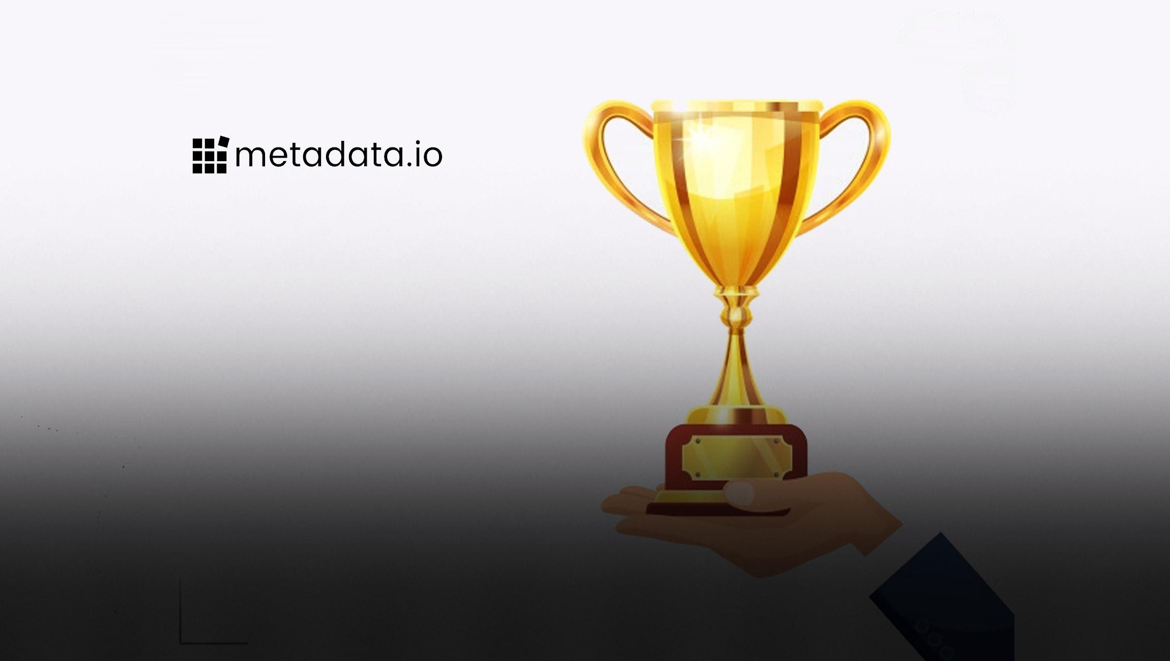 "Metadata.io Awarded ""Innovator of the Year"" at LinkedIn® Marketing Partner Awards, North America"