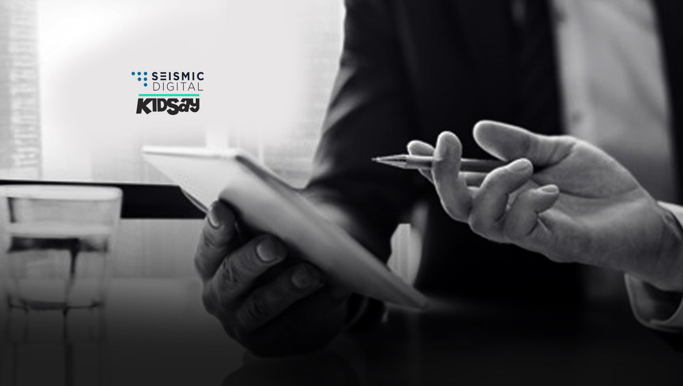 Seismic-Digital-and-KidSay-Form-Strategic-Alliance