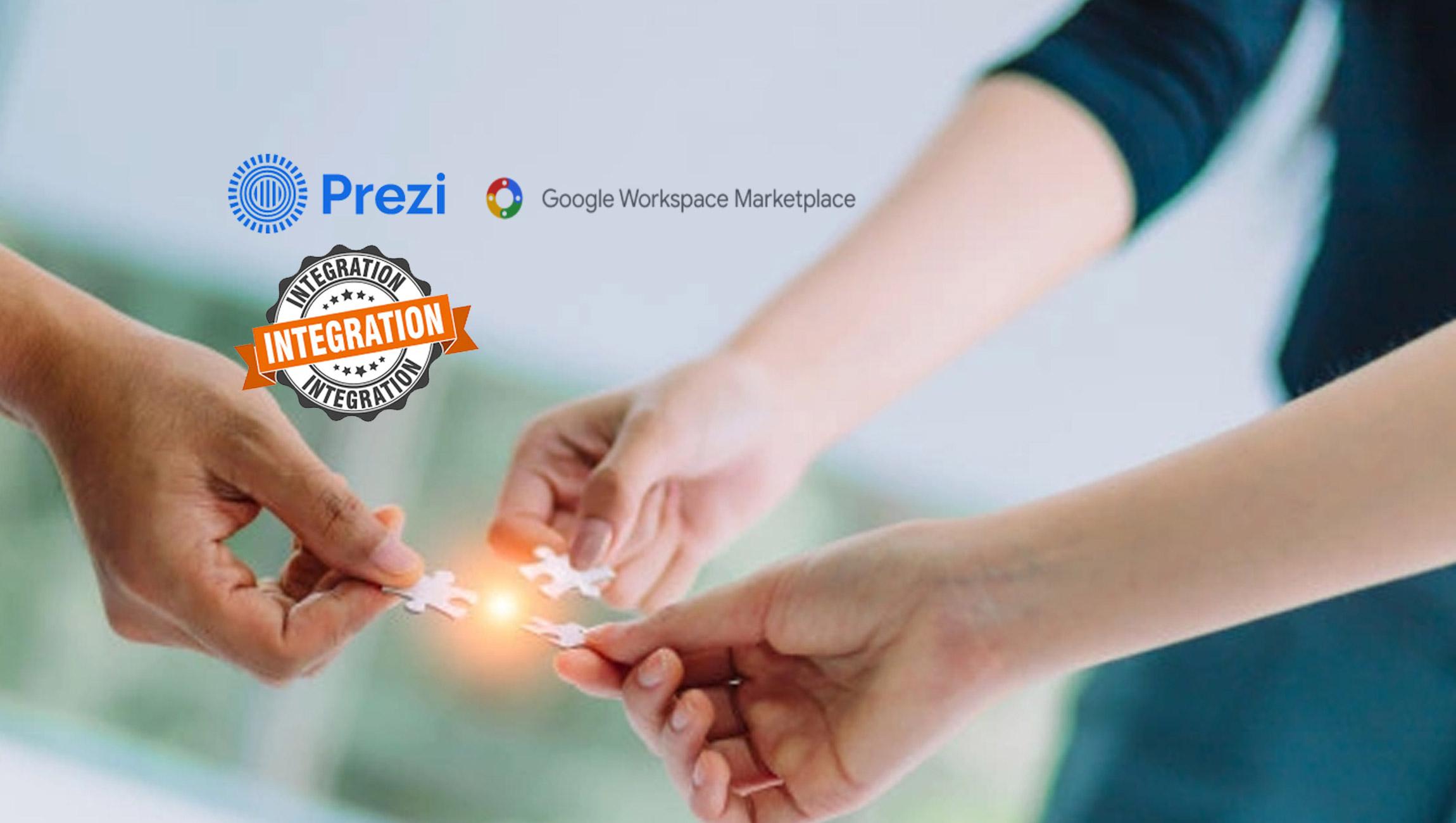 Prezi Video Announces Integration With Google Workspace Marketplace