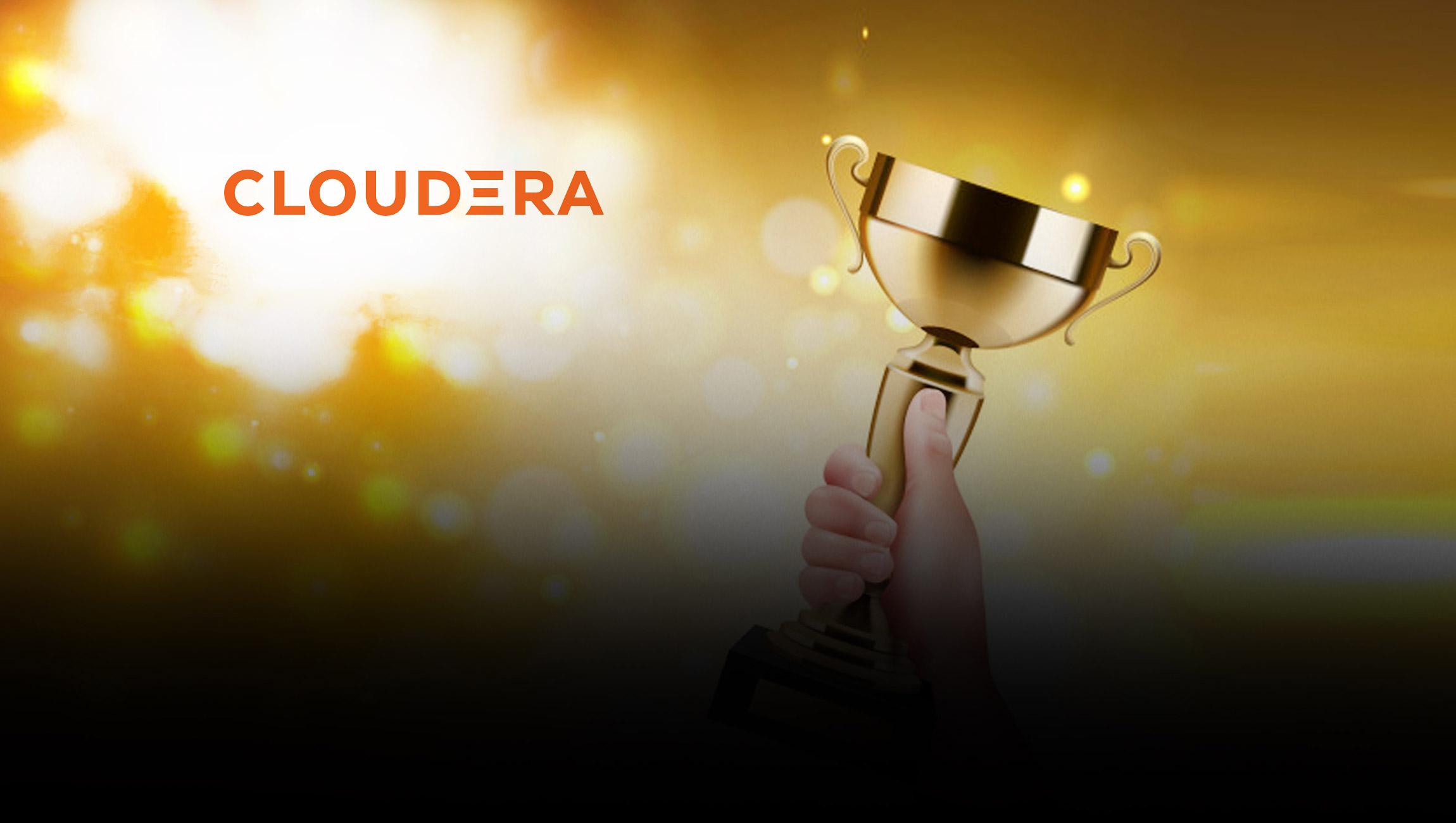 Cloudera Announces Winners of 2021 Partner Awards