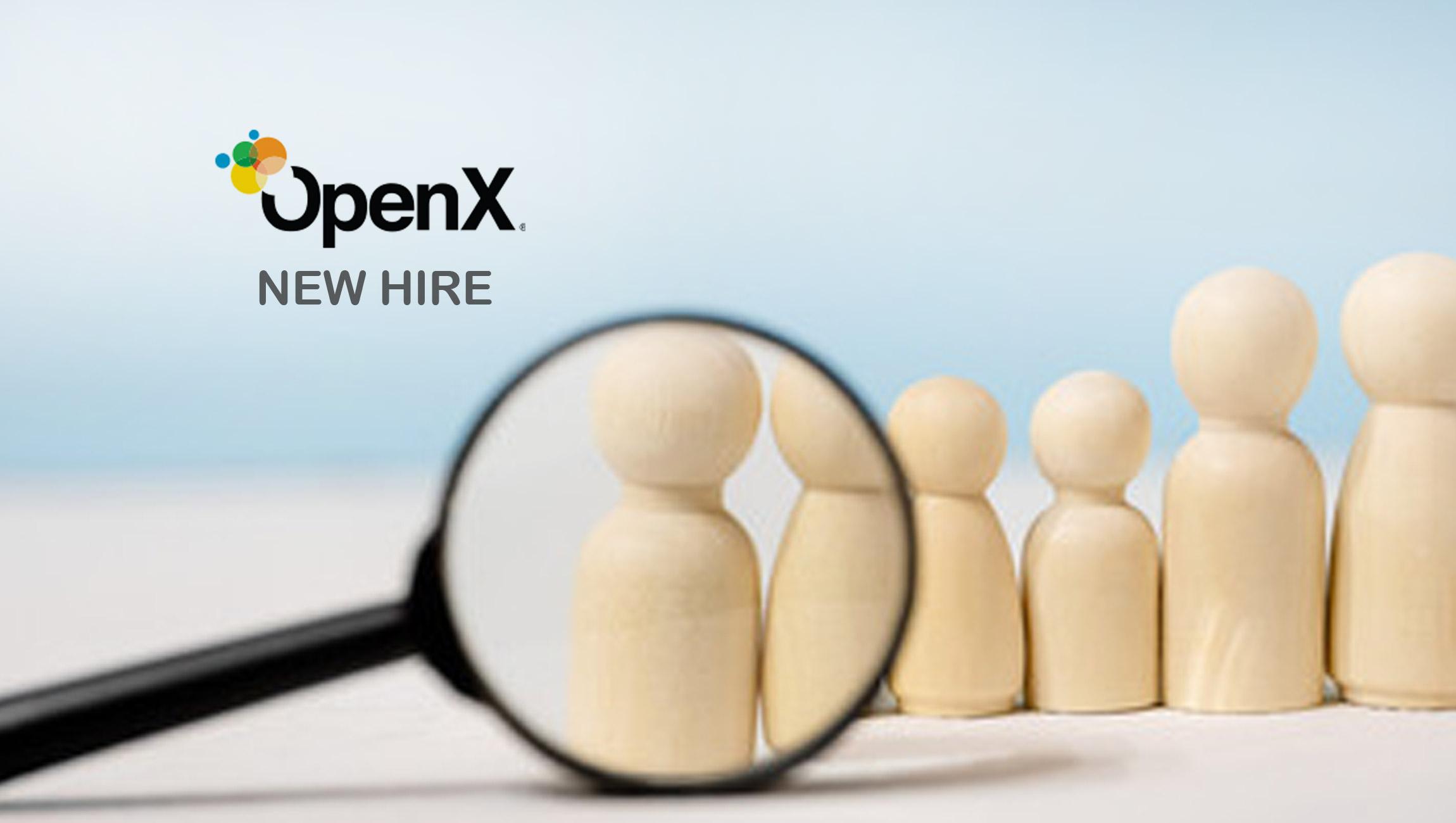 OpenX Promotes Brian Chisholm To Senior Vice President Of Strategic Partnerships