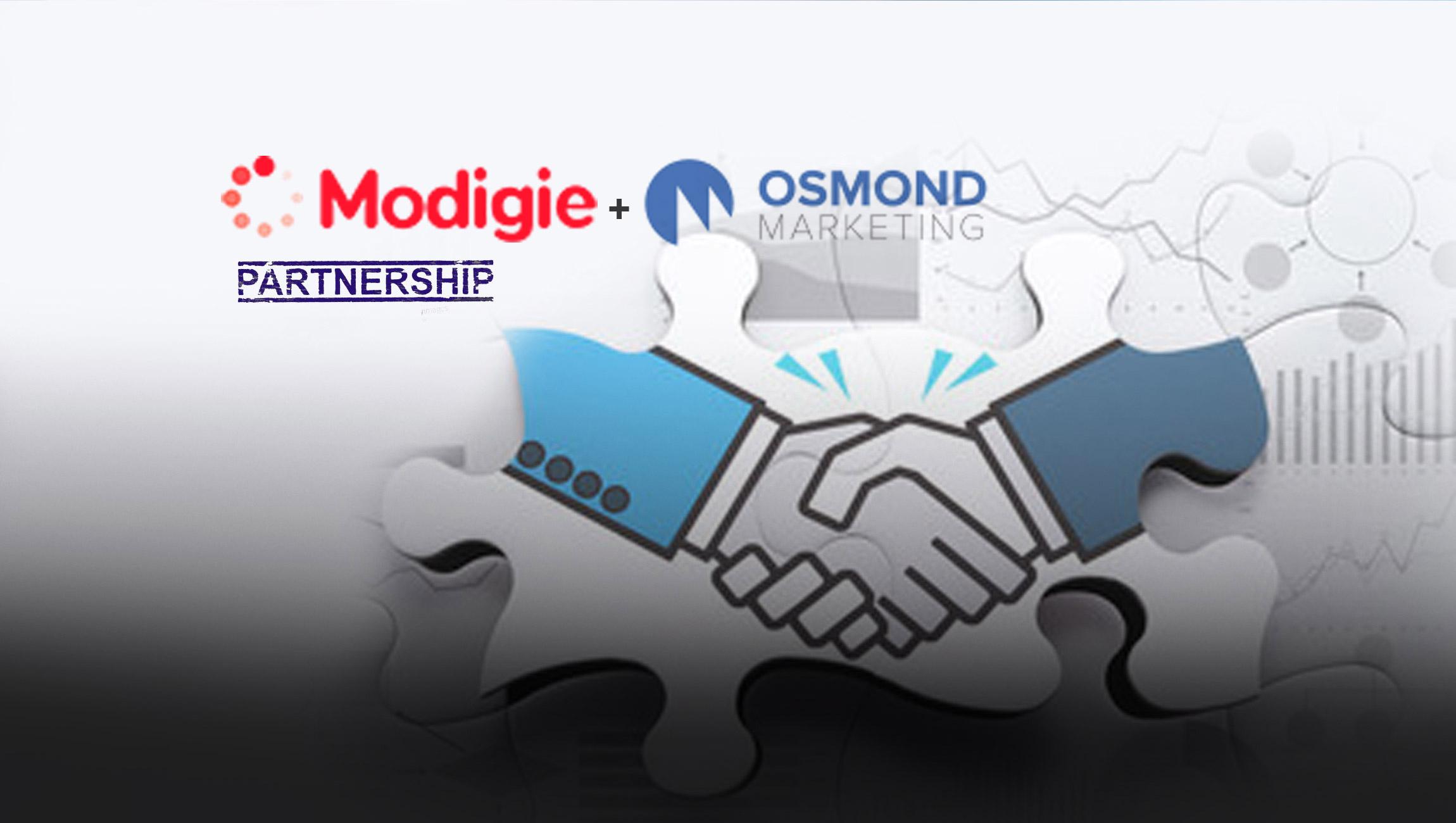 Modigie And Osmond Marketing Announce Strategic Partnership