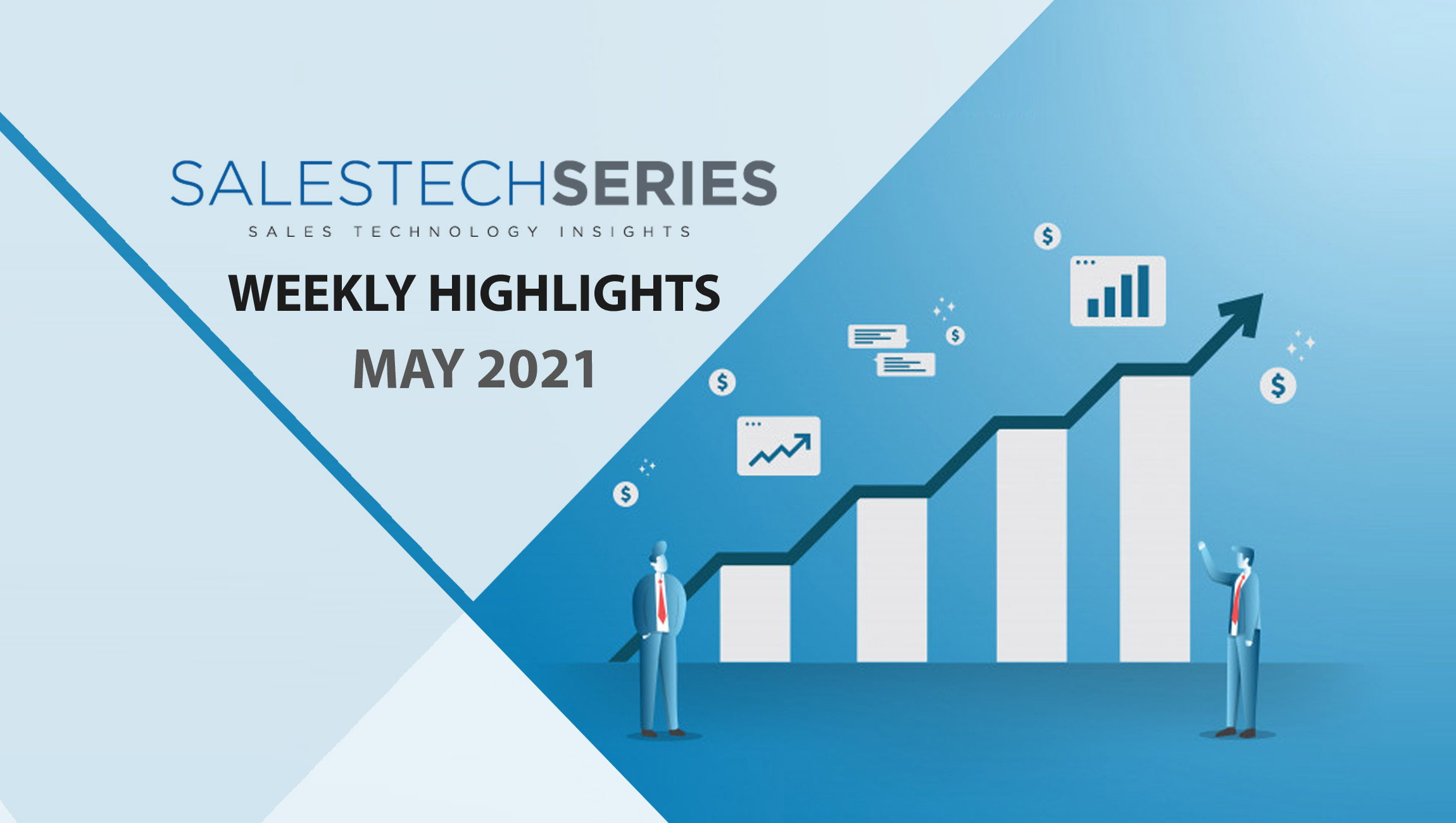 Sales Technology Highlights of The Week: 10th May-2021: Featuring Creatio, Shopify, Dun & Bradstreet, Mediafly