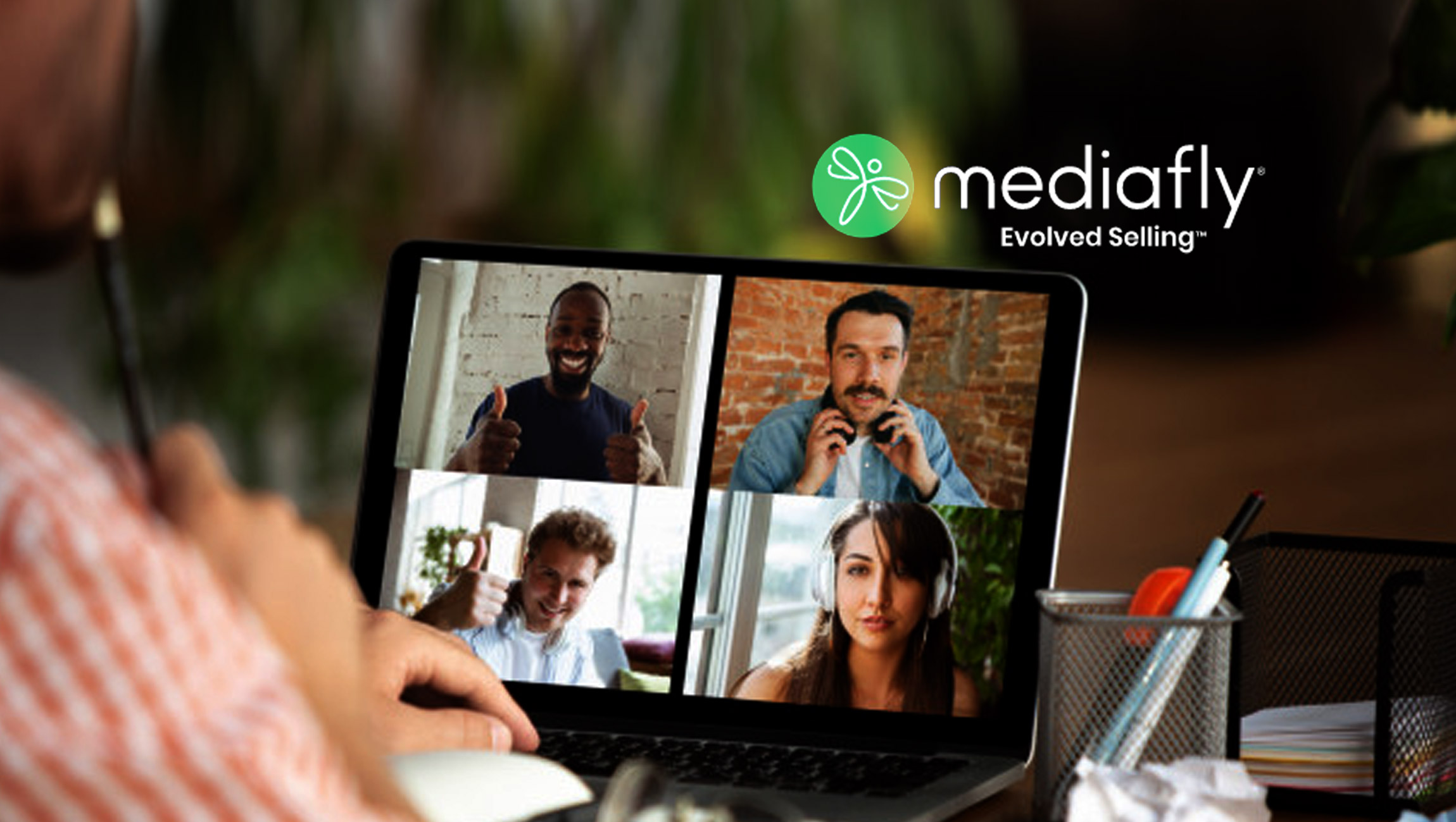 Mediafly Launches Broadcaster to Elevate Visual Storytelling in Virtual Meetings