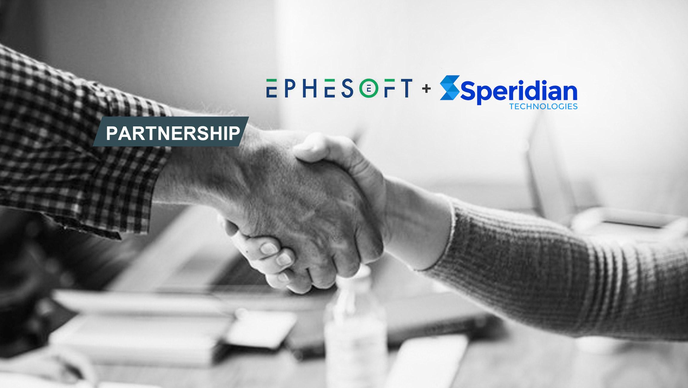 Ephesoft and Speridian Technologies Announce Strategic Global Alliance Partnership