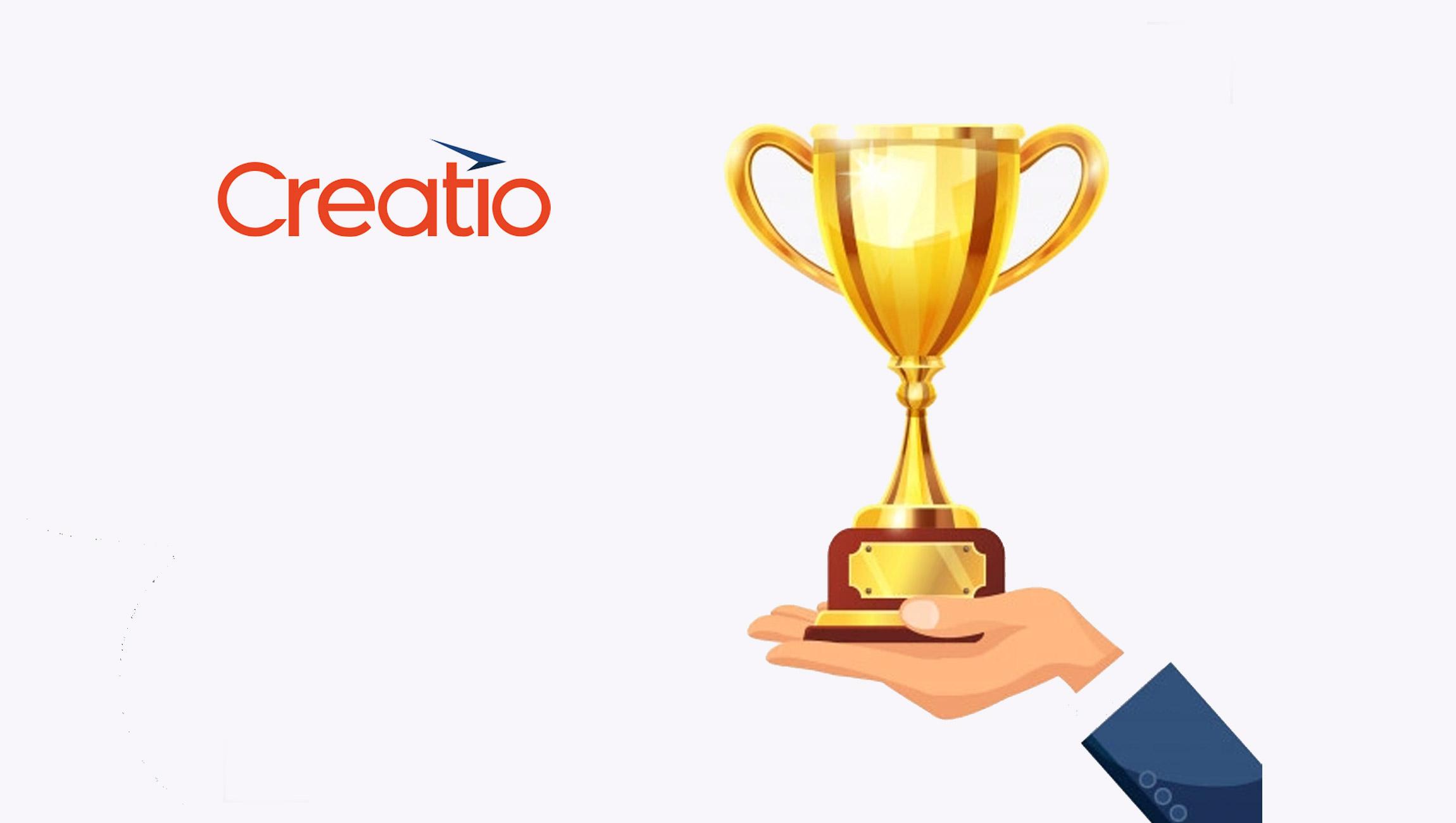 Creatio, Katherine Kostereva, Wins Silver Stevie® Award in 2021