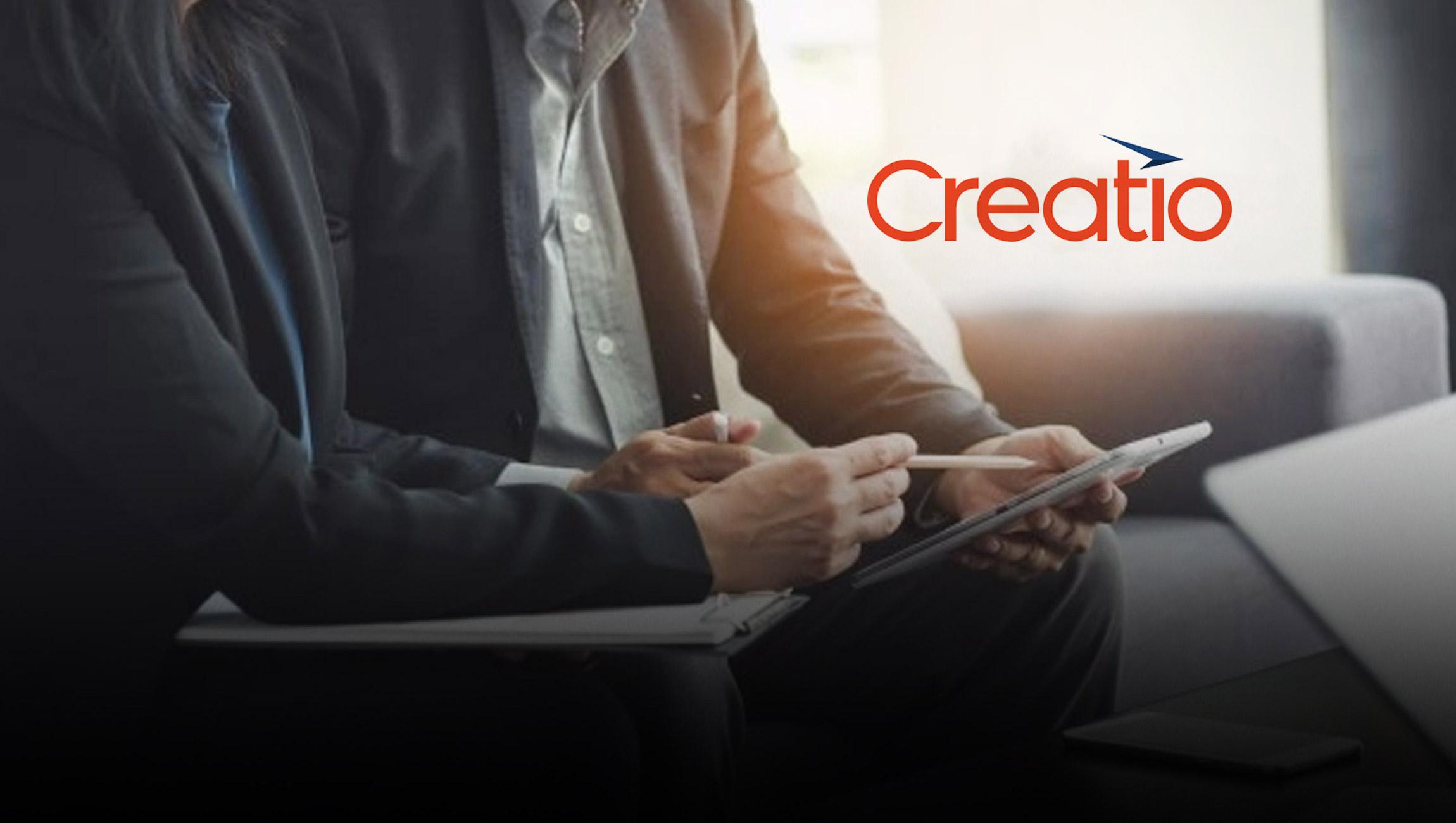 Creatio Recognized in 2021 Gartner® Magic Quadrant™ for Enterprise Low Code Application Platforms